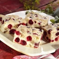 Cranberry Nut Bars Recipe