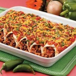 Photo of Black Bean and Rice Enchiladas by Christie Ladd