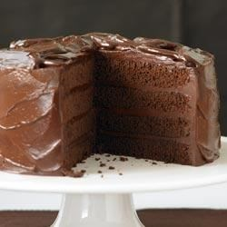Devils Food Cake with Sinful Chocolate Frosting Recipe