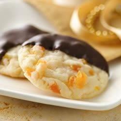 Dark Chocolate Apricot Cookies
