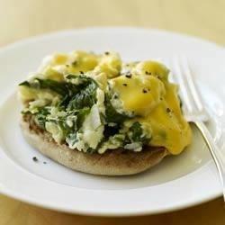 Eggs Florentine on an English Muffin Recipe