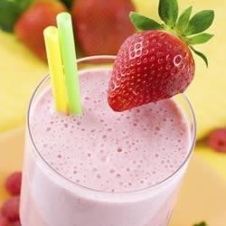 Photo of Strawberry-Banana Smoothie by Silk®