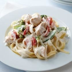 Photo of Chicken Primavera with Pasta by PHILADELPHIA Cooking Creme