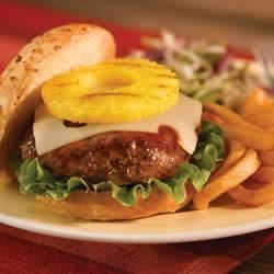 Hawaiian-Style Burgers Recipe