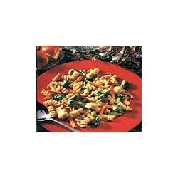Vegetable Rotini with Dijon Cheese Sauce Recipe