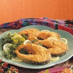 Photo of Herbed Salmon Steaks by Karyn  Schlamp