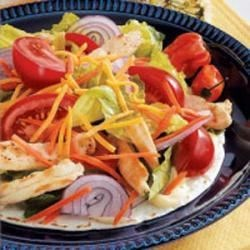 Photo of Chicken Salad on a Tortilla by Shirley  Banks