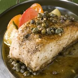 Halibut Piccata Recipe