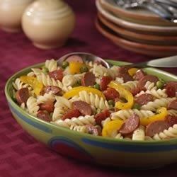 Hearty Pasta Dinner Salad Recipe