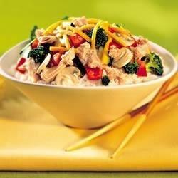 Turkey-Rice Supper Recipe