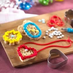 Photo of Lovely Locket Treats™ by Kellogg's® Rice Krispies®