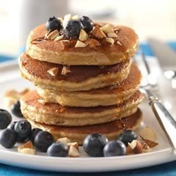 Photo of Silver Dollar Pancakes (Gluten-free) by Almond Board of California