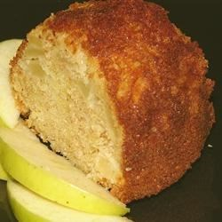 Super Duper Easy Apple Cake