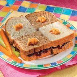 Goldfish Checkerboard Sandwich