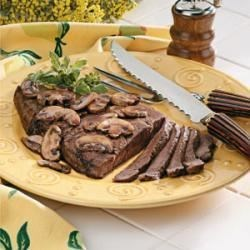 Photo of Sirloin with Mushroom Sauce by Taste of Home Test Kitchen