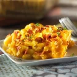 Photo of Macaroni and Cheese with Veggie Bacon by Morningstar Farms®