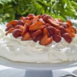 Strawberry Pavlova Recipe