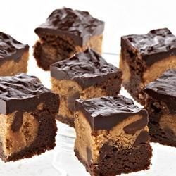 Photo of Peanut Butter Brownie Bites by Ghirardelli®