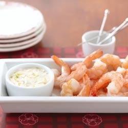 Photo of Shrimp with Lemon Seafood Sauce by KNUDSEN