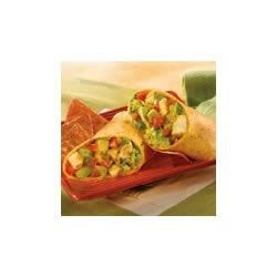 Photo of Salsa Verde Chicken Wraps by Campbell's Kitchen