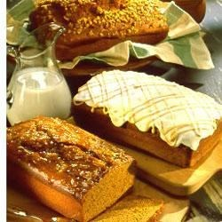Old-Fashioned Pumpkin Nut Loaf