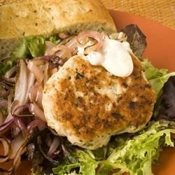 Italian Turkey Burgers Recipe