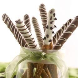 Crazy Dipped Pretzel Rods Recipe