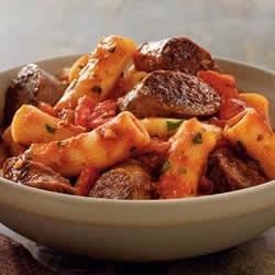 Johnsonville Italian Sausage Rigatoni  Recipe