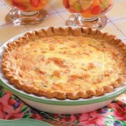 Photo of Crab Quiche by Taste of Home Test Kitchen