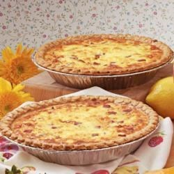 Photo of Ham 'N' Cheese Quiche by Christena  Palmer