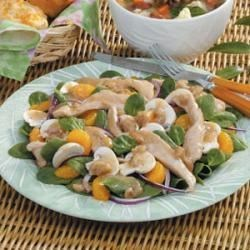 Photo of Warm Chicken Spinach Salad by Shirley  Glaab