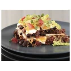 BREAKSTONE'S Creamy Layered Enchilada Bake Recipe