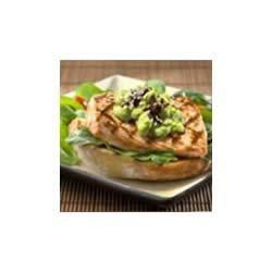 Asian Avocado Aioli with Salmon Fillets Recipe