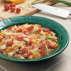 Photo of Crab Couscous Salad by Taste of Home Test Kitchen