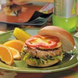 Photo of Caribbean Turkey Burgers by Taste of Home Test Kitchen
