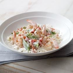 Photo of Creamy Shrimp and Rice by PHILADELPHIA Cooking Creme