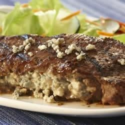 Lawry's(R) Balsamic Black and Blue Steak Recipe