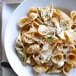 Rosemary Chicken with Whole Wheat Orecchiette Recipe
