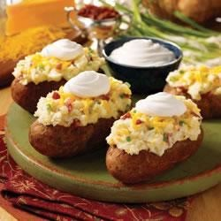 Photo of Twice Baked Potatoes by Daisy Brand by Daisy Brand