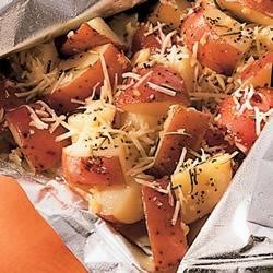 Perfect Garlic and Parmesan Potatoes Recipe