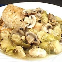 Romantic Chicken with Artichokes and Mushrooms Recipe - Allrecipes.com