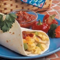 Photo of Suppertime Egg Burritos by Scott  Jones