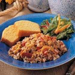 Beefy Spanish Rice