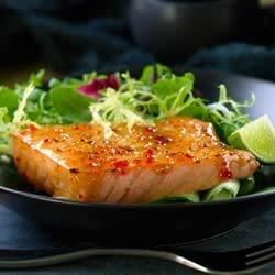 Chili Glazed Salmon Recipe