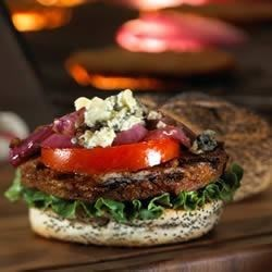 Black 'N Blue Morningstar Farms(R) Burger Recipe