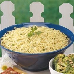 Photo of Garlic Parsley Spaghetti by Evelyn  Sparish