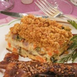 Photo of Ham Vegetable Strata by Diane  Meyer