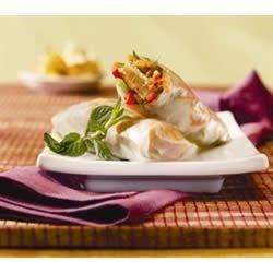 Photo of Asian Veggie Patties Spring Rolls by Morningstar Farms®