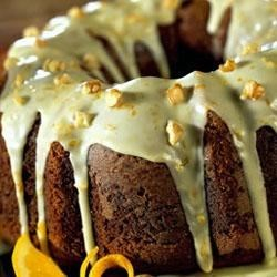 Photo of Pumpkin Cake with Orange Glaze by Crisco Baking Sticks®
