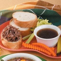 Photo of French Dip Sandwiches by Taste of Home Test Kitchen